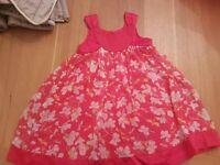Ted Baker girls summer dress, age 2-3