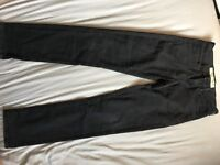 Black jeans, size 8