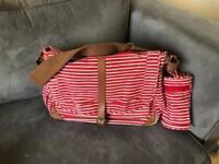Changing. Bag