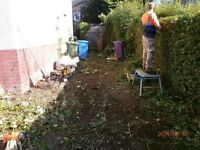 DO IT ALL..garden maintenance, Tidy up, Fence Erected, all post codes throughout Glasgow