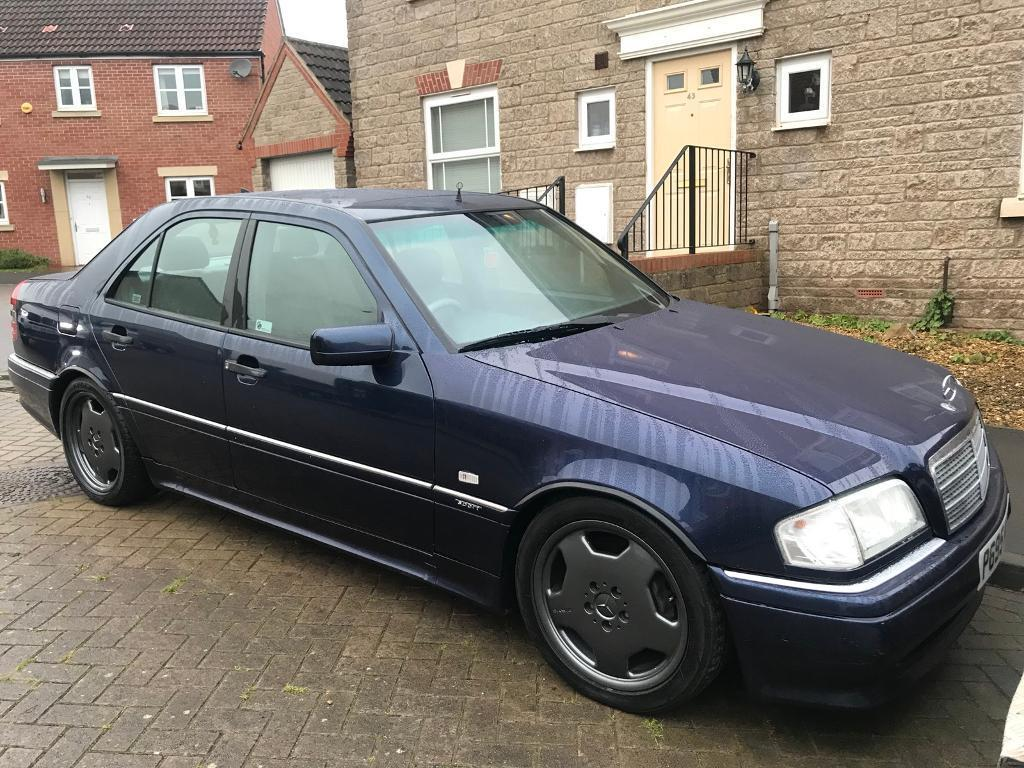 97 P MERCEDES C36 AMG VERY RARE NOW STUNNING CAR LIKE NEW DRY STORED 10 YEARS FAULTLESS CLASSIC CAR