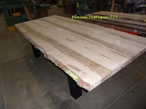 table en tranche d'arbre à vendre