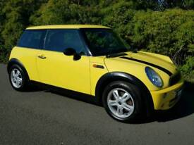 2004(53) BMW MINI ONE 1.6 YELLOW MANUAL