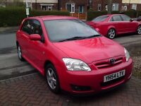 2004 TOYOTA COROLLA 1.4 T3 D-4D 5DR MOTED SEPTEMBER 2017 EXCELLENT CONDITION AND RUNNER £1250 OVNO