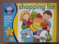 orchard toys shopping list game for ages 3-7