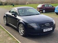 Audi TT QUATTRO 1.8, F S History, One Year MOT, Leather Heated Seat.