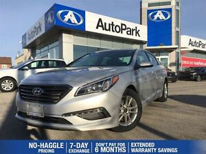 2016 Hyundai Sonata 2.4L GL/HEATED SEATS/REARVIEW CAM/SUNROOF/AL