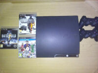 Playstation 3 Slim w/ 12 Games