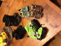 Stonz, sandles, water shoes and winterboots