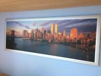 New York framed picture.