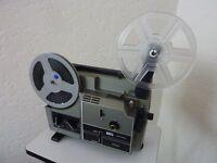 cine projector / editor