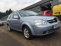 2009 59 CHEVROLET LACETTI 1.6 ESTATE