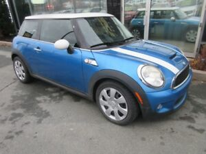 2007 MINI Cooper COOPER S WITH PANO ROOF & LEATHER