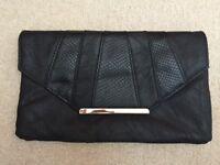 Black New Look Clutch Bag