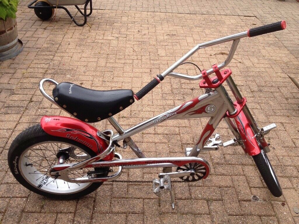 Vintage Schwinn Stingray Chopper Bike (can be convereted to electric bike)  for sale | in Bournemouth, Dorset | Gumtree
