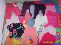 Bundle of girl Clothes 9-18 months