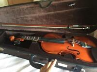 STENTOR 4/4 VIOLIN WITH ACCESSORIES