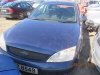 2003 FORD MONDEO ZETEC TDCI, 2.0L DIESEL, BREAKING PARTS ONLY, POSTAGE AVAILABLE NATIONWIDE