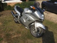 Honda CBR1100xx Superblackbird, low mileage immaculate condition!