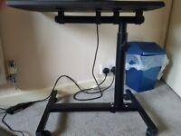 Laptop bedside desk