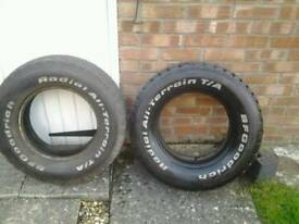 215/75/15 4 x 4 tyres