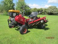 Saxon Triple Mower - Quality Mower to handle large areas of grass - 72 inch wide cut