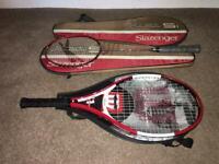 1 tennis racquet