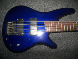 BASS Ibanez 5-String Bass Guitar.
