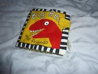 Soft dinosaur book
