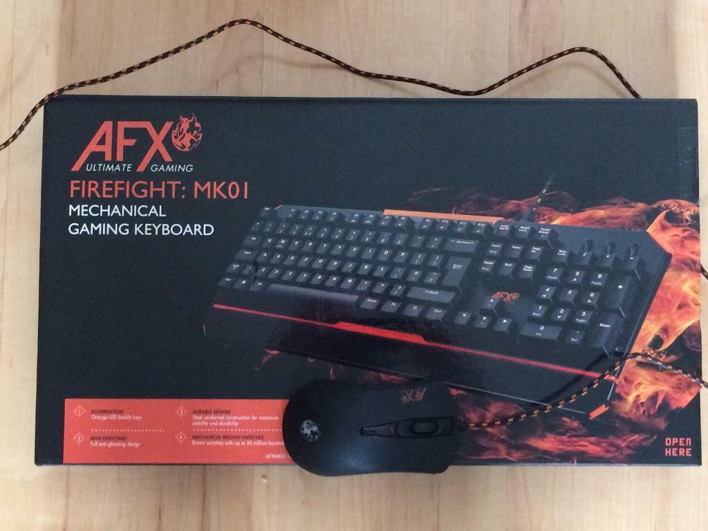 cf2f4337e77 AFX Firefight MK01 mechanical gaming keyboard and mouse | in ...