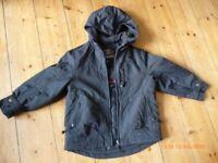 Boys navy school coat Age5 from Next