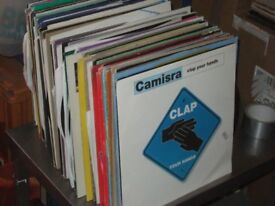 """125 x 12"""" Trance / Hardhouse / Electro Records Vinyl Collection."""