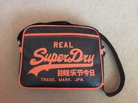 Superdry Leather Bag (Never Used/Like New)