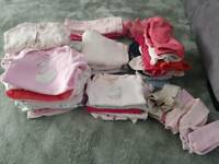 Baby girl Newborn Clothes Bundle