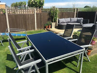 garden table and 4 reclining chairs must go by sunday!
