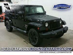 2012 Jeep Wrangler Unlimited 4WD 4dr Sahara W/ REMOTE START