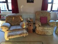 Excellent 2 electric recliner chairs