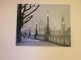 Large canvas from the range