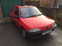 1994 Peugeot 106 XN Graduate 1.1 manual petrol