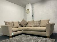 SOLD- Beautiful NEXT fabric corner sofa delivery 🚚 sofa suite couch furniture