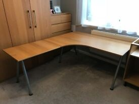 LARGE Ikea Galant Corner Desk