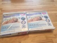 2x Brand New Mattress Protectors - Double