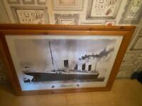 Large framed pic