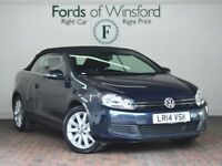 VOLKSWAGEN GOLF 2.0 Tdi Bluemotion Tech Se 2dr Dsg [Bluetooth, Dab Radio] Auto (blue) 2014