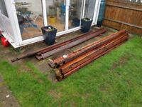 Wood from old shed