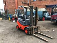 Linde 1.6 ton H16 Gas forklift truck container spec with side shift