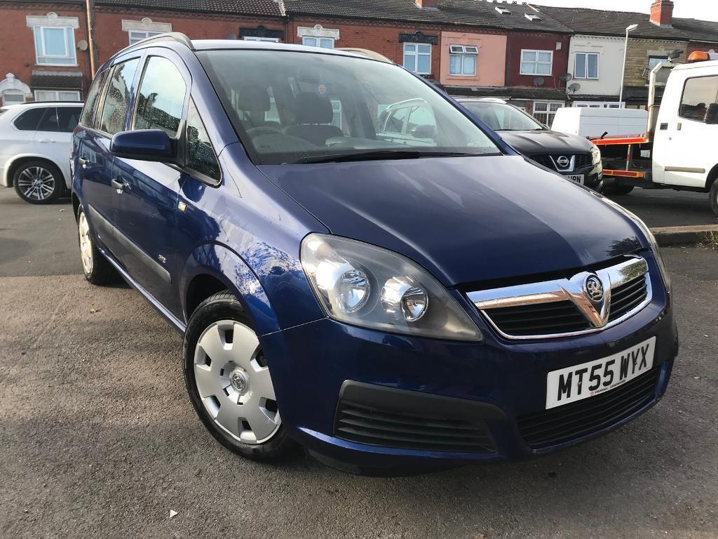 Vauxhall zafira Low millege clean car