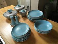 Dinner Service, Poole pottery