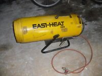 Garage propane space heaters-2 available dual voltage 110./240v