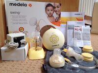 Medela Swing Breast Pump Set
